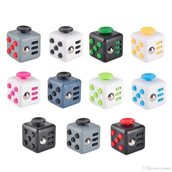 Cube anti stress - multicolore