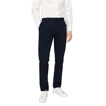 Pantalon chino slim-fit - bleu marine