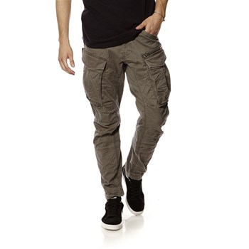 Rovic zip 3D tapered - Pantalon cargo - gris