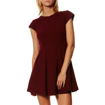 Claudie - Vestito corto - bordeaux