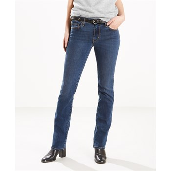 714 - Jean skinny slim - denim bleu