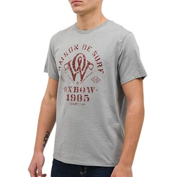 Oxbow - Tony - Kurzärmeliges T-Shirt - grau
