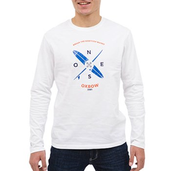 Tarbo - T-shirt manches longues - blanc