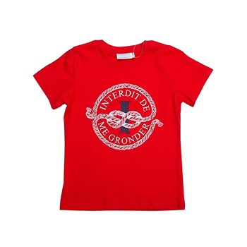 Cordage - T-shirt manches courtes - rouge