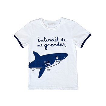 Le Requin - T-shirt - bleu
