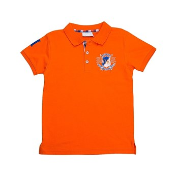 Numéro 8 - Polo - orange