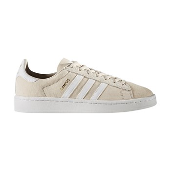 Campus - Baskets en cuir - beige