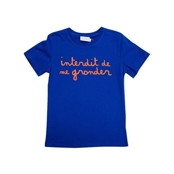 L'Interdit - T-shirt - bleu
