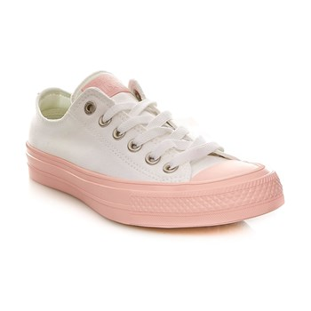 CHUCK TAYLOR ALL STAR II OX WHITE/VAPOR PINK/VAPOR PINK - Baskets - bicolore