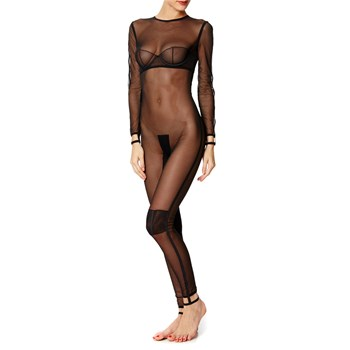 Bodystocking - schwarz