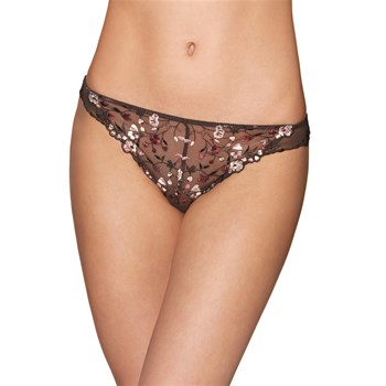 Divin Bouquet - Slip italien - marron