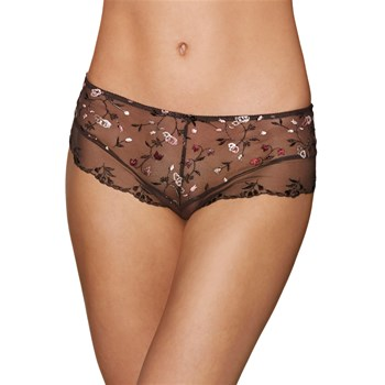 Divin Bouquet - Shorty - marron