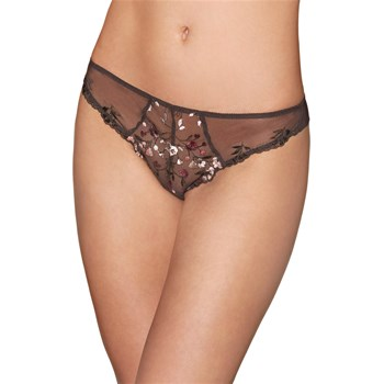 Divin Bouquet - Tanga - marron