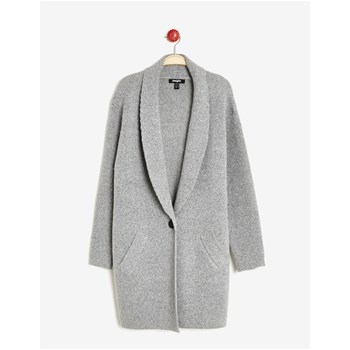 Gilet long - gris chine