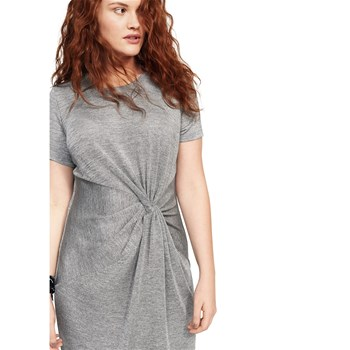 Robe noeud - gris