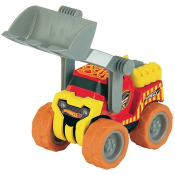 Hot Wheels - Camion bulldozer - multicolore