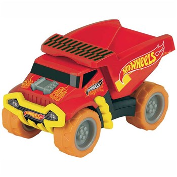 Hot Wheels - Camion-benne - multicolore