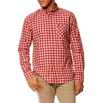 Chemise casual - rosso