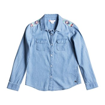 Water Priotities - Bluse - jeansblau