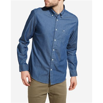 Chemise casual - blu jeans
