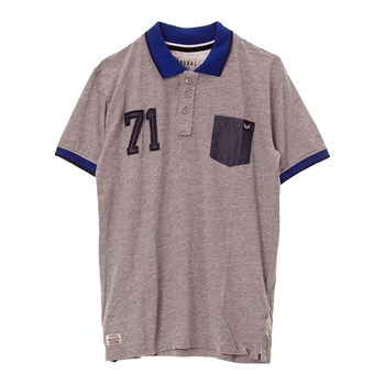 Polo-Shirt - grau