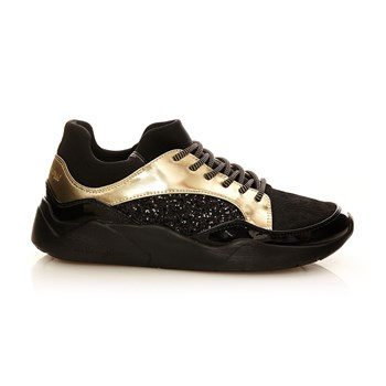 Clajog - Sneakers bi-materiale - oro