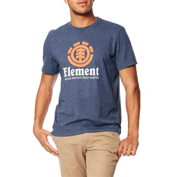 Vertical - Kurzärmeliges T-Shirt - blau