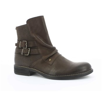 SMATCH - Boots en cuir - marron