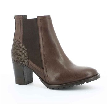 Umane - Bottines en cuir - marron