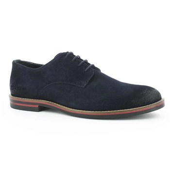 Eldan - Derby in pelle - blu scuro