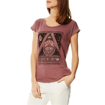 Billabong - All Night Tee - T-shirt manches courtes - bordeaux