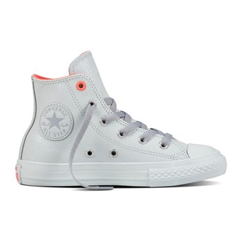 Chuck Taylor All Star Hi - Sneakers in pelle - grigio