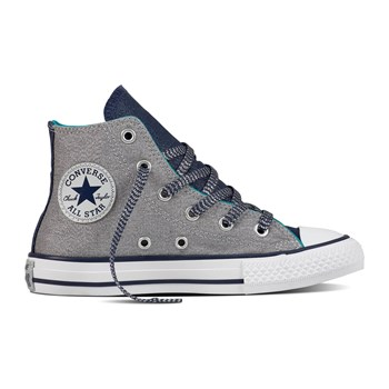 Chuck Taylor All Star Hi - Junior - Zapatillas de caña alta - gris