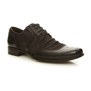 Mede - Derbies en cuir - noir