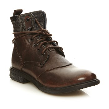 Pop - Boots en cuir - marron