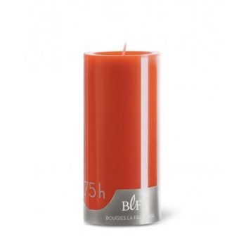 Bougie cylindrique - orange