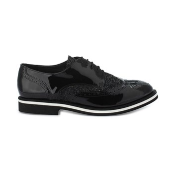 Ela - Derbies en cuir - noir