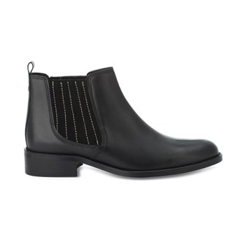 Finch - Bottines en cuir - noir