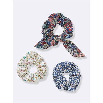 Lot de 3 chouchous - multicolore