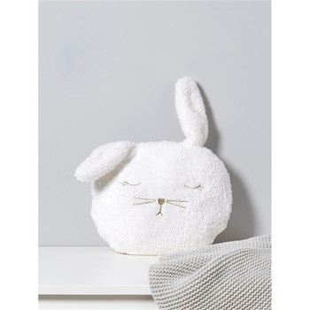 Coussin lapin - blanc