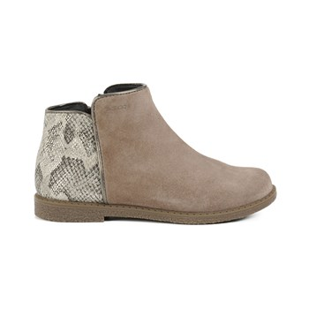 Shawntel - Boots con efecto doble material - beige
