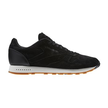 Sneakers in pelle - nero
