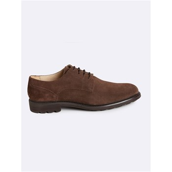 Derbies en cuir - taupe