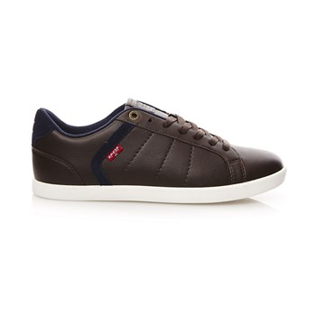 Loch Derby - Sneakers in misto pelle - marrone scuro