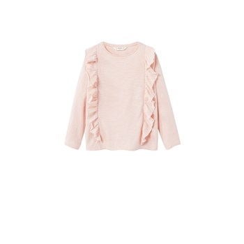 T-shirt manches longues - rose clair