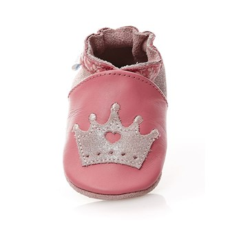 Princess Story - Chaussons en cuir - rose