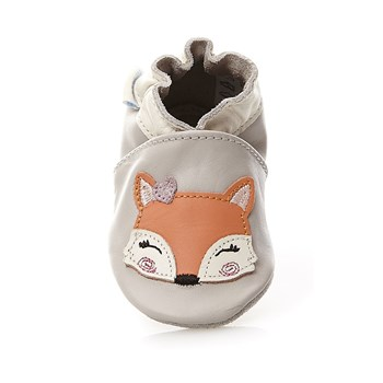 Foxy Lady - Chaussons en cuir - gris clair