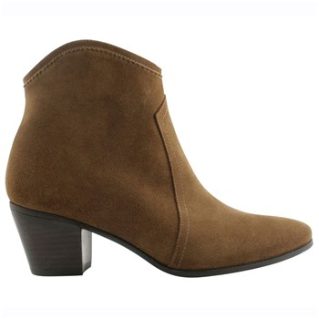 Quesal - Bottines en cuir - or