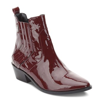 Dina - Bottines en cuir - bordeaux