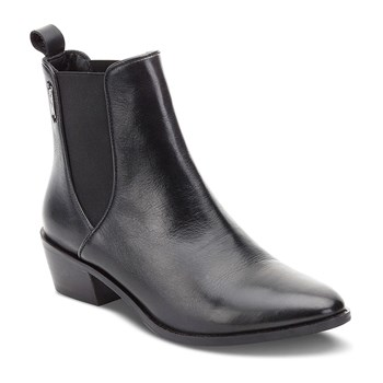Dina - Bottines en cuir - noir